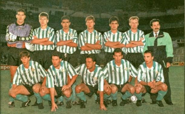 Alineación Castilla-Betis Liga 1991  AS 13-06-1992