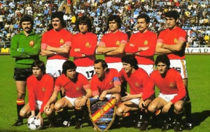 Béticos en la selección. Buenos Aires 1978
