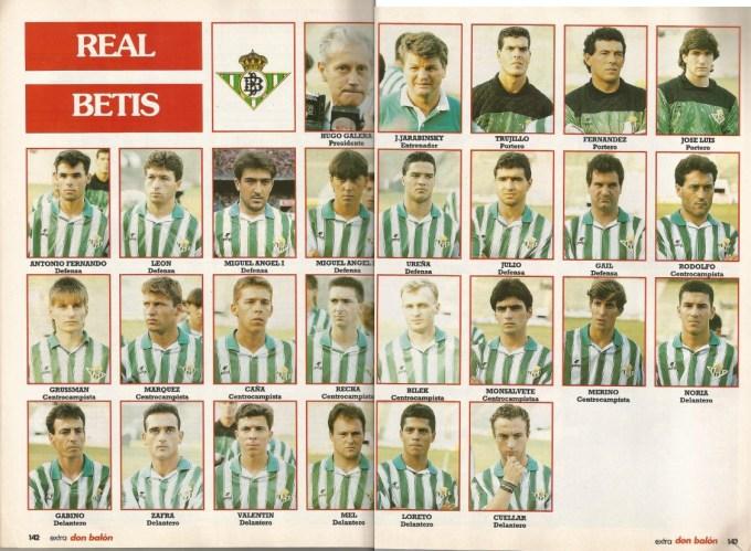 El Betis en Don Balón 1991 def