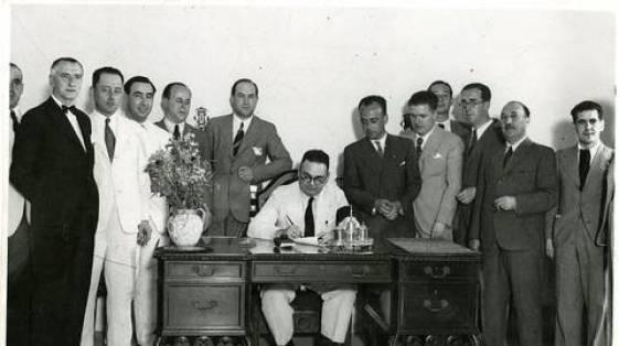 75 años en Heliópolis cesión 1936