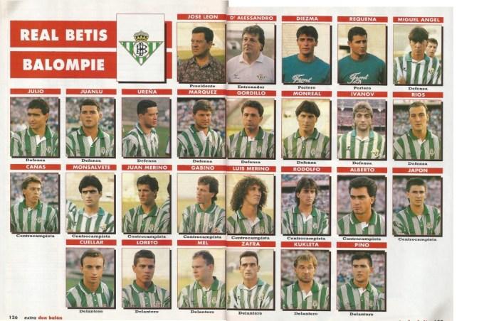 El Betis en Don Balón 1992 def