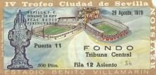 1/4 ABONO IV TROFEO CIUDAD DE SEVILLA-Mi Localidad.
