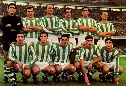 Alineación Barcelona-Betis Liga 1967