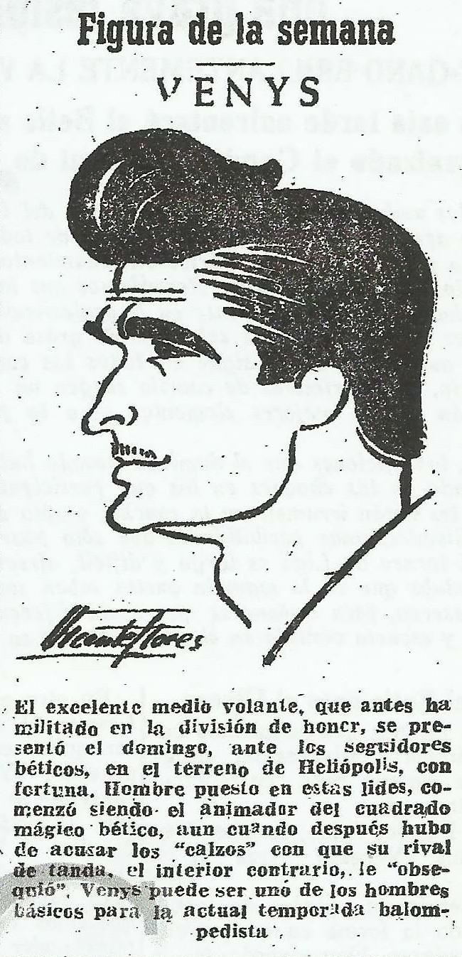 ABC-SE-19520925-Dibujo Vicente Flores-FIGURA DE LA SEMANA: VENYS.