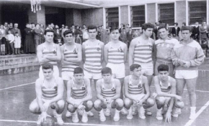 El Betis de baloncesto en los años 60