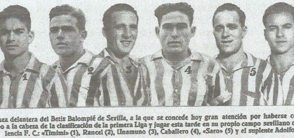 1934-Diciembre 23-Primera.-Betis Balompié-3 Valencia Cf-0.-82Aniversario.