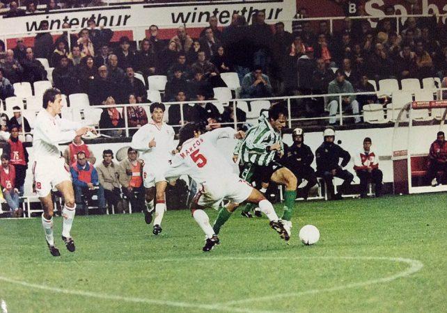Hoy hace 24 años. Gol número 1.400 en Primera División.