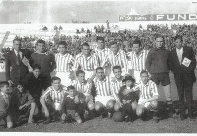 Alineación Betis-Larache Liga 1954