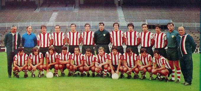 El Athletic en la temporada 1972-73