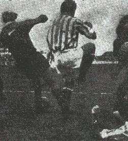 1955-Enero 2.-2D2GHeliópolis.-Real Betis Balompié-4 CDTarrasa-1.-62Aniversario.