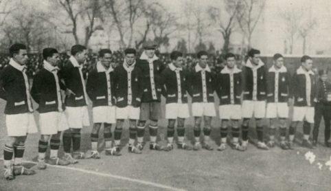 Alineación Sevilla-Betis Campeonato de Andalucía 1927
