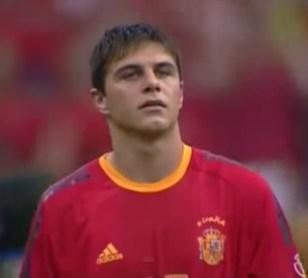 Hoy hace 18 años. Debut con la selección de Joaquín Sánchez.