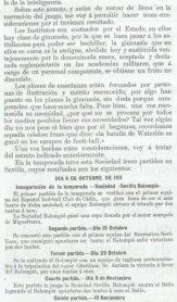 1913-Febrero 15.-Don Juan Del Castillo Ochoa-Presidente Sociedad Sevilla Balompié.-104Aniversario.