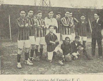 1913-Abril.-Club Español Sevilla.-Rival Sociedad Sevilla Balompié.-104 Aniversario.