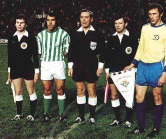 Hoy hace 42 años. Betis 0 Dinamo Moscú o en la Recopa.