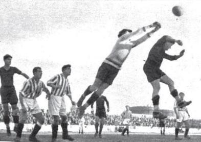 Hoy hace 86 años. Betis 1 Barcelona 0.