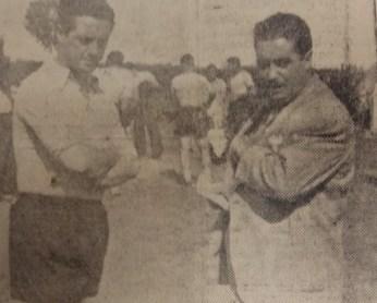 Comienzan los entrenamientos 1955