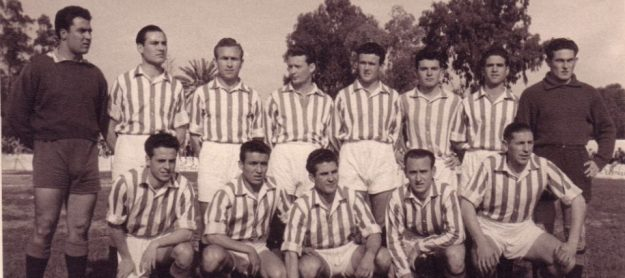 Hoy hace 66 años. Empate a 1 frente al Racing Portuense en el debut de Luis Del Sol.
