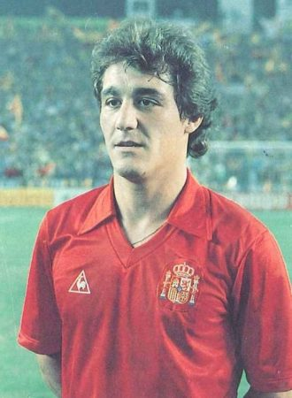 Hoy hace 38 años. Debut de Hipólito Rincón con la selección.