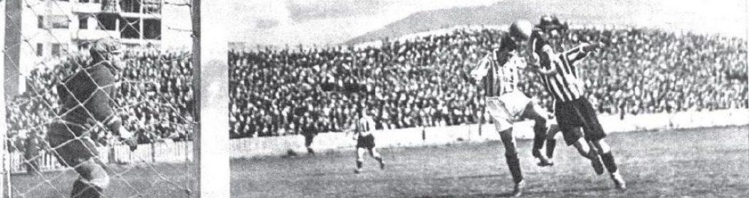 Hoy hace 85 años. Athletic 1 Betis 2 en Copa.