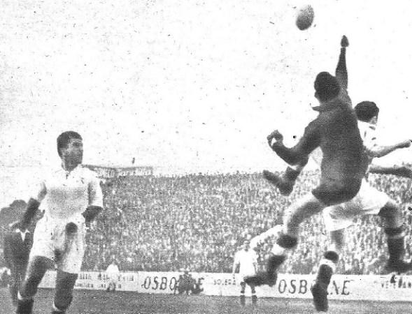 Hoy hace 74 años. Betis 4 Real Madrid 0 en Copa.
