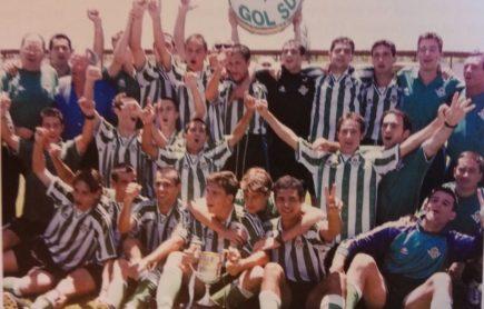 Hoy hace 21 años. Victoria 2-1 sobre el Real Madrid en la final de Copa Juvenil.