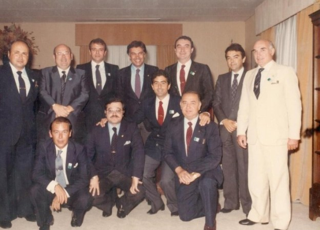 Hoy hace 38 años. El Betis en el Palacio de La Moncloa.