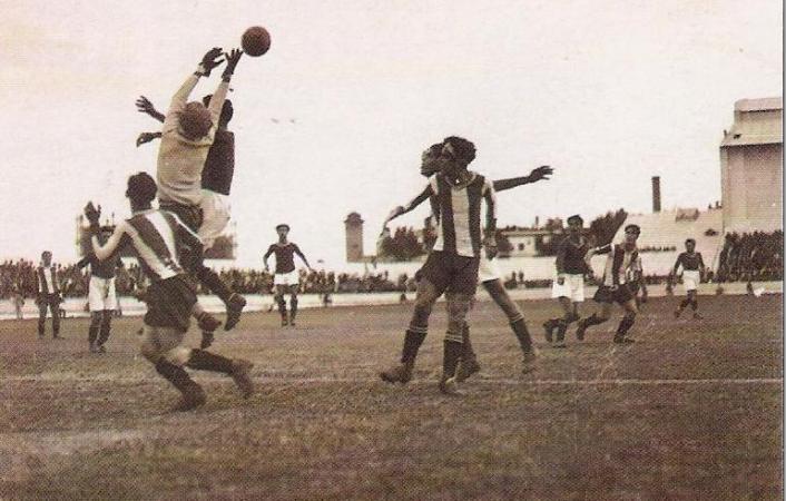 Hoy hace 88 años. Betis 2 Nacional 1.