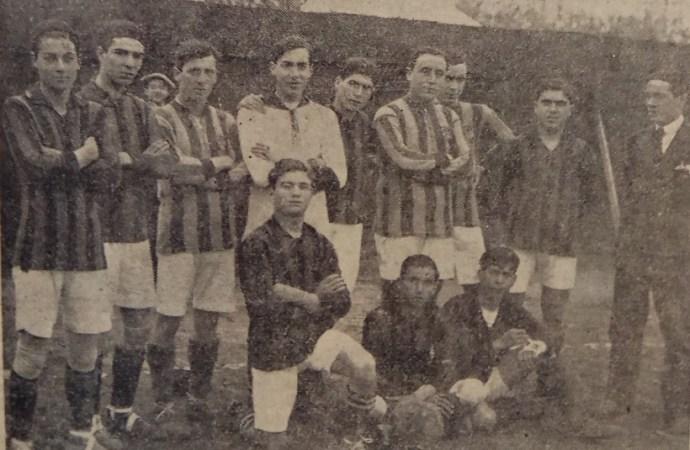 Hoy hace 103 años. Betis 5 Español 0.