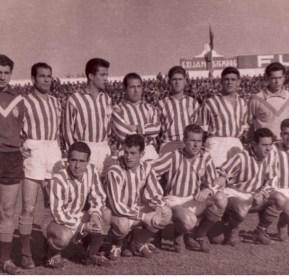 Hoy hace 62 años. Betis 3 San Fernando 0.