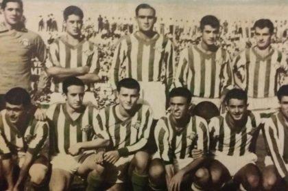 Alineación Betis-Athletic Liga 1958