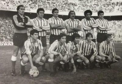 Alineación Sevilla-Betis Liga 1982