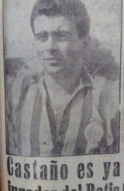 Hoy hace 62 años. Fichaje de Heliodoro Castaño.