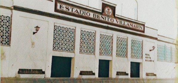 La fachada del Villamarín 1961