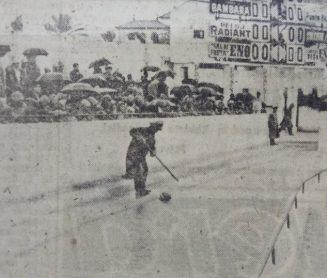La pesca del balón en Heliópolis 1961