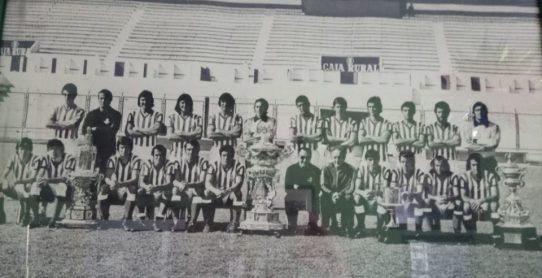 Plantilla temporada 1977-78