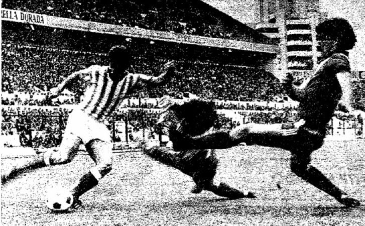 Hoy hace 43 años. Betis 1 Rayo Vallecano 0.