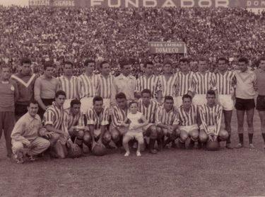 Hoy hace 62 años. Betis 3 Jerez 0.