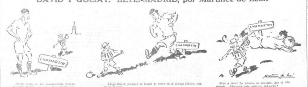 Oselito y el Betis. 1934