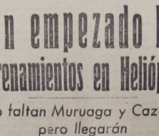 Hoy hace 75 años...