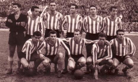 Alineación Betis-Sevilla Liga 1959