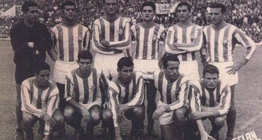 Hoy hace 58 años. Betis 3 Sevilla1.