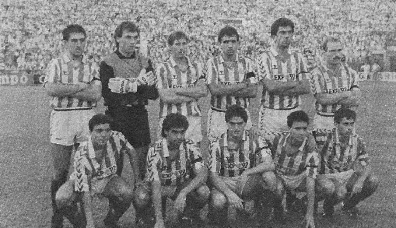 Hoy hace 33 años. Betis 0 Real Madrid 2.