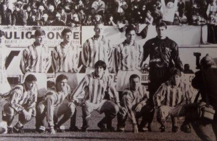 Alineación Mérida-Betis Liga 1994