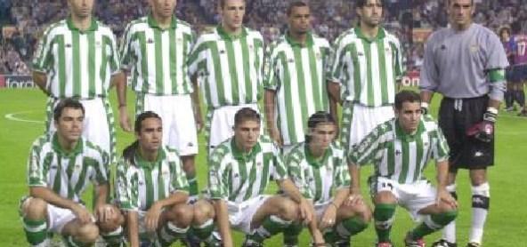 Alineación Barcelona-Betis Liga 2001