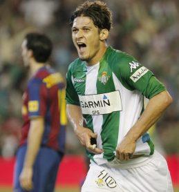 Edu y sus goles al Barcelona 2008