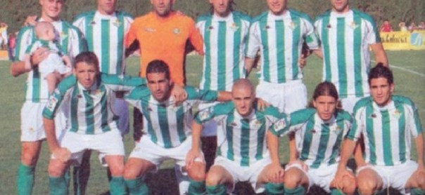 Alineación Almonte-Betis Amistoso 2005