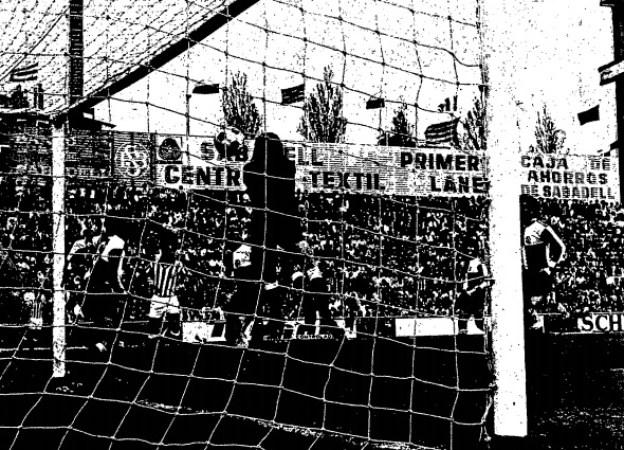 Hoy hace 47 años. Sabadell 2 Betis 3.