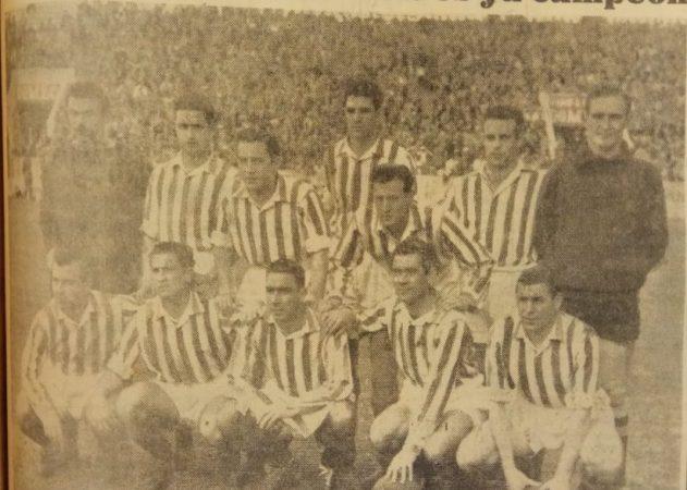 Hoy hace 67 años. Español Tetuán 1 Betis 2 y ascenso a Segunda División.