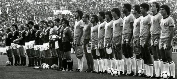 Brasil-Escocia en el Villamarín 1982